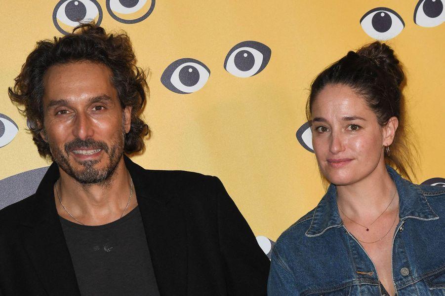 Vincent Elbaz et Marie Gillain pour la présentation du film «Mystère» lors de la 16e édition de Mon Premier Festival au Forum des Images à Paris le 21 octobre 2020