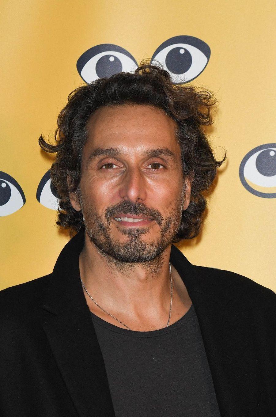 Vincent Elbazpour la présentation du film «Mystère» lors de la 16e édition de Mon Premier Festival au Forum des Images à Paris le 21 octobre 2020