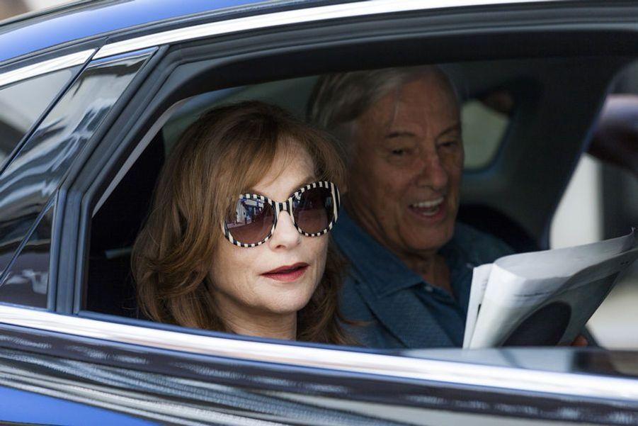 Isabelle Huppert sera dans «Happy End» de Michael Haneke et «La Caméra de Claire» de Hong Sang-soo.
