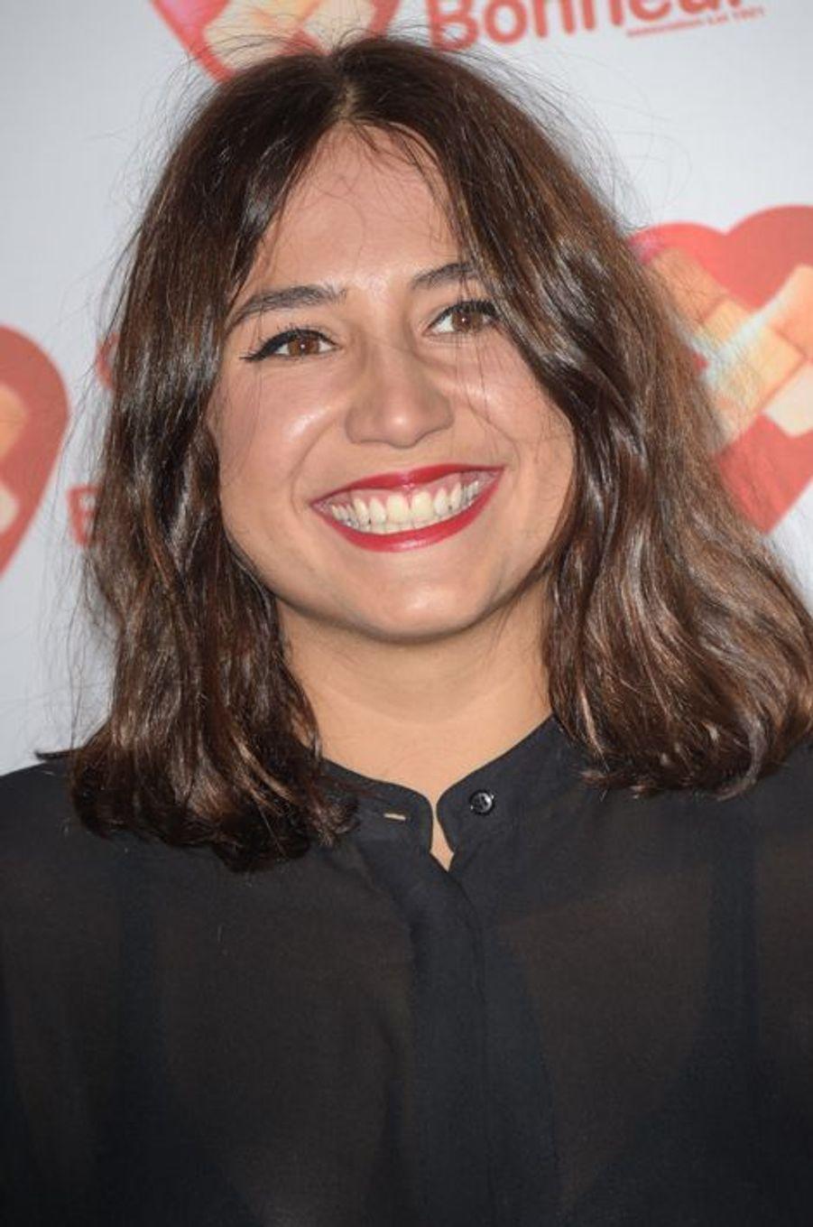 Izia Higelin à Paris le 14 octobre 2014