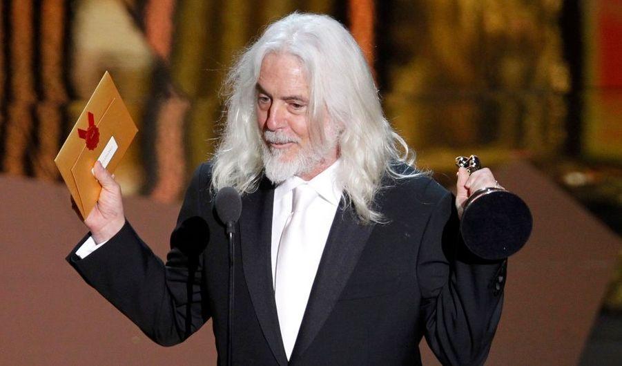 Bob Richardson, Oscar de la meilleure photo pour Hugo