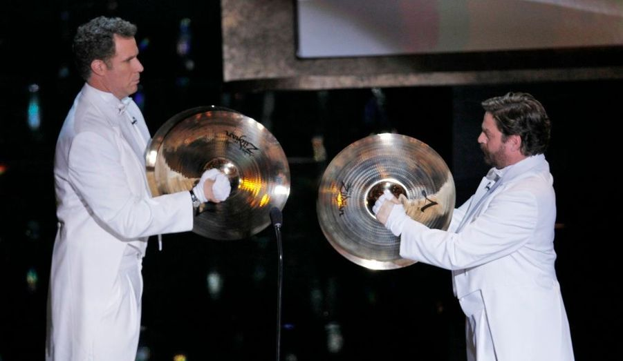 Will Ferrell et Zach Galifianakis