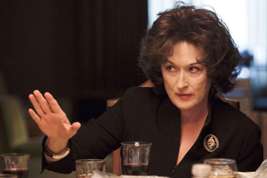 «Un été à Osage County». Ici, pas de nombreuses nominations. Seulement deux mais elles en imposent. Ce film, produit et distribué par la Weinstein Compagny, nous invite au coeur d'une famille déchirée qui se retrouve lors de funérailles pas comme les autres. Les deux nominations sont pour les deux actrices: Meryl Streep dans la catégorie Meilleure actrice qui joue une mère totalement folle, droguée et maniaco-dépressive. Mais, et surtout, Julia Roberts dans la catégorie Meilleur second rôle féminin. Le long-métrage signe le grand retour de l'actrice dans un rôle taillé sur mesure et qui pourrait bien lui rapporter une seconde statuette après «Erin Brockovitch» en 2001.