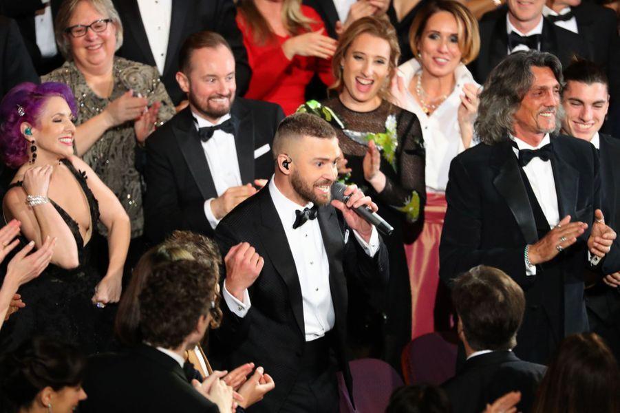 L'ouverture endiablée avec Justin Timberlake