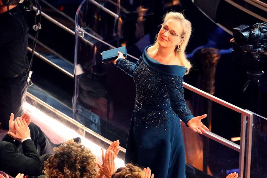 La standing ovation réservée à Meryl Streep