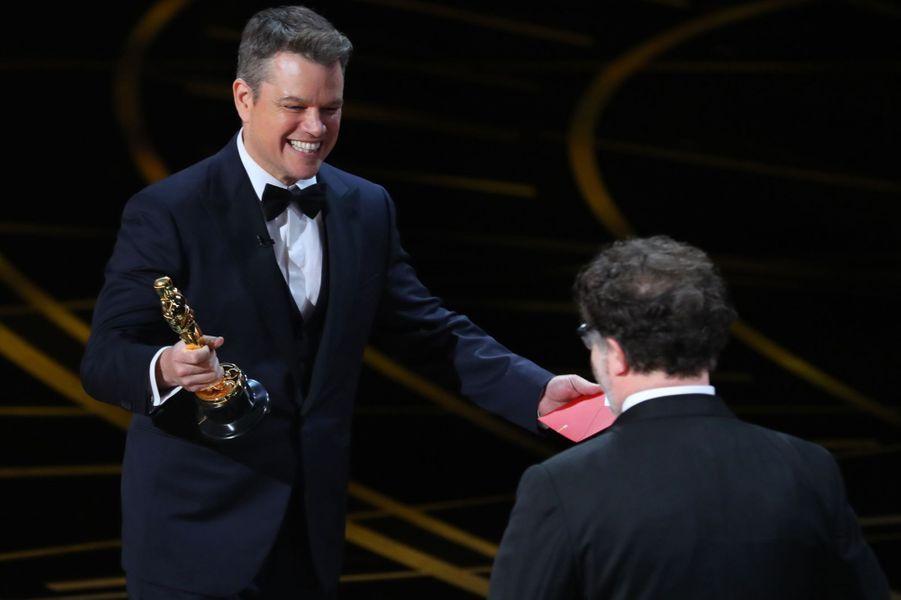 Matt Damon félicite Kenneth Lonergan