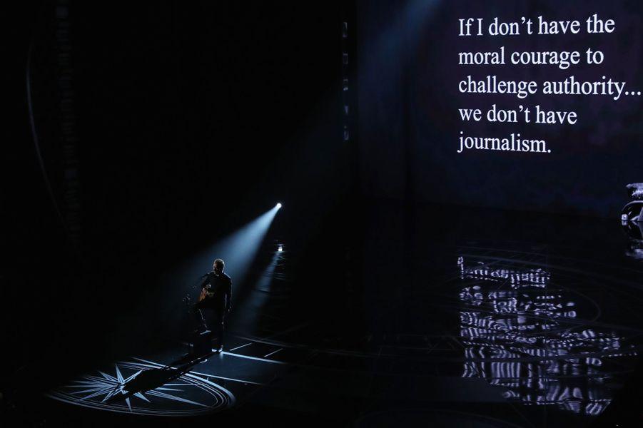 Le discours engagé pour le journalisme de Sting