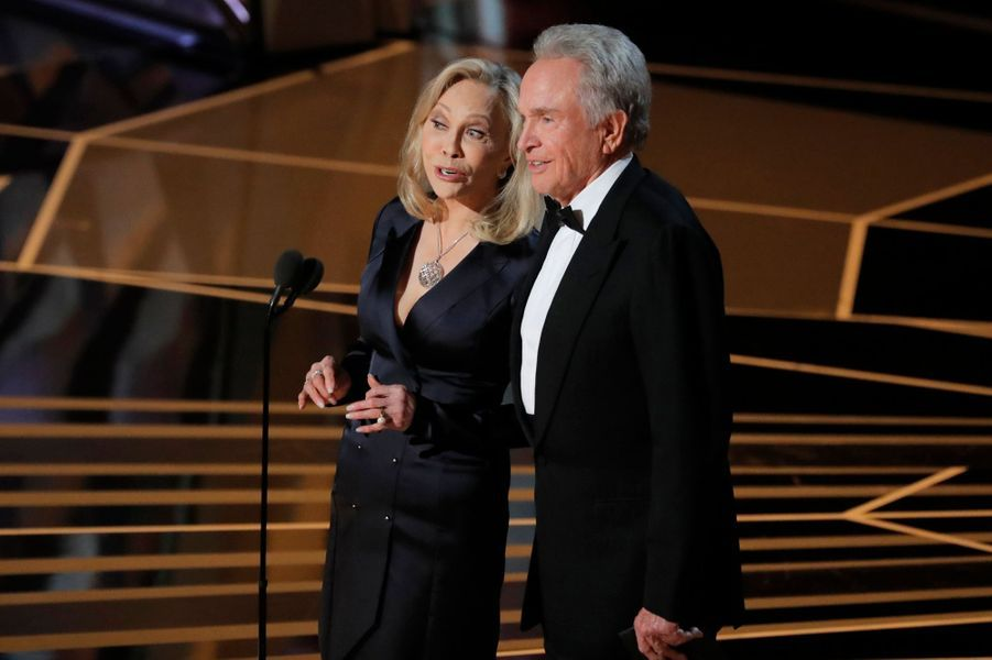 Faye Dunaway et Warren Beatty