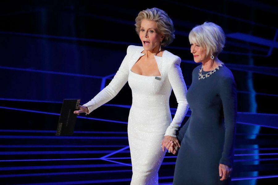 Jane Fonda et Helen Mirren