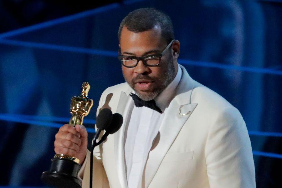 """Jordan Peele, Oscar du meilleur scénario original pour """"Get Out""""."""