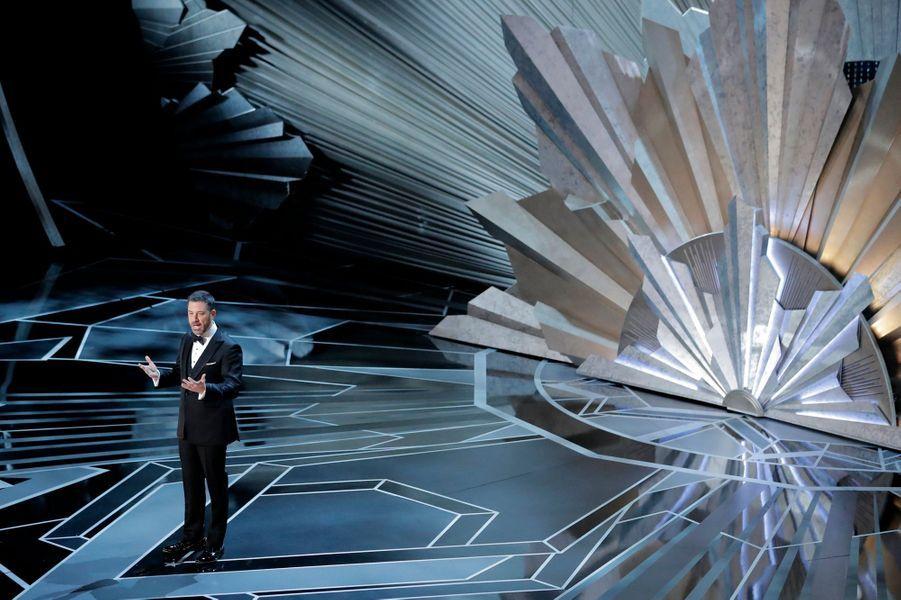 Jimmy Kimmel lors de son monologue d'ouverture