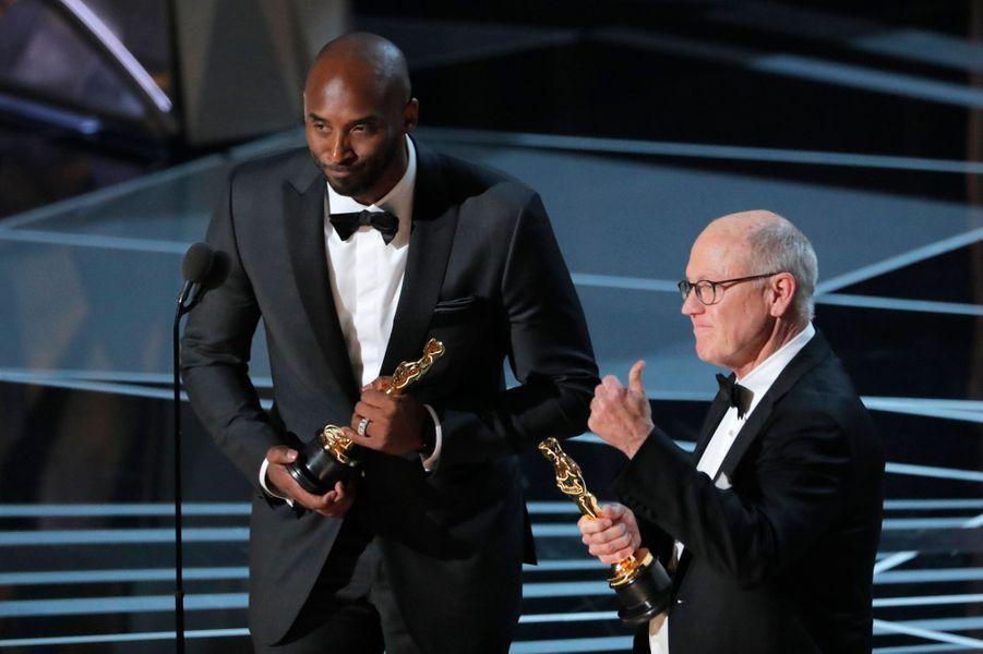 Kobe Bryant, Oscar du meilleur court d'animation