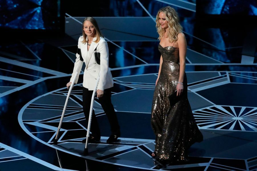 Jodie Foster et Jennifer Lawrence