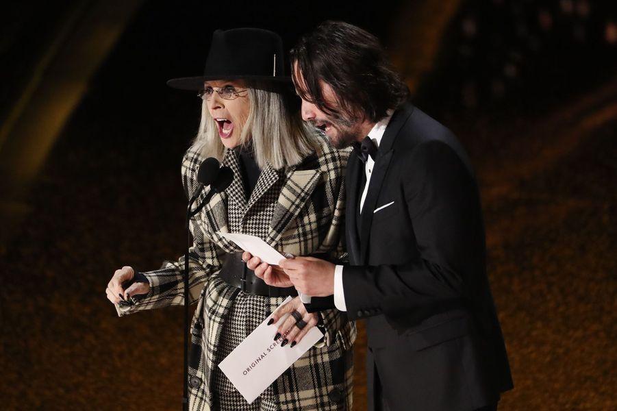 Diane Keaton et Keanu Reeves