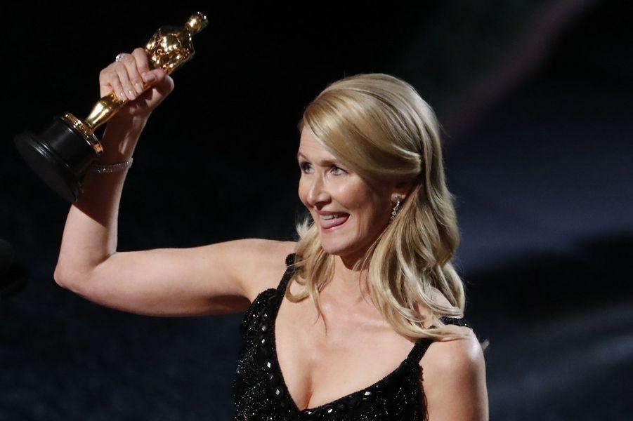 Laura Dern récompensée de l'Oscar du meilleur second rôle féminin
