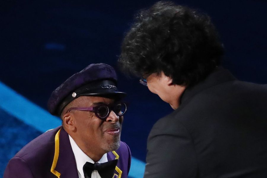 Spike Lee félicite Bong Joon-ho pour l'Oscar du meilleur réalisateur