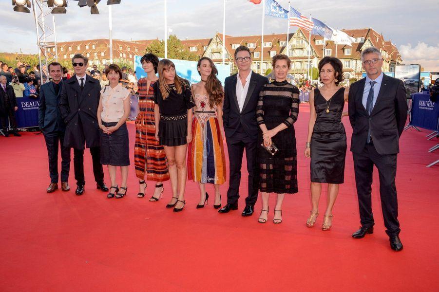Le jury de du Festival de Deauville 2017