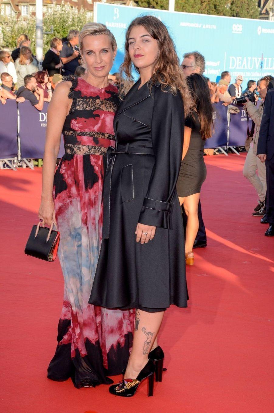 Melita Toscan Du Plantier et sa fille