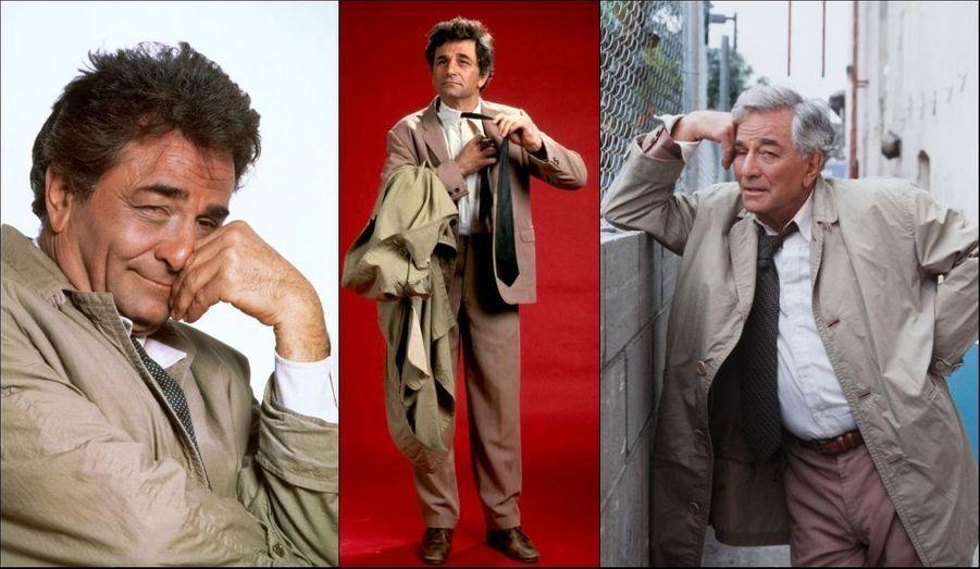 Pour le rôle de Columbo, qu'il joue de 1968 à 1978, puis entre 1989 et 2003, Peter Falk reçoit quatre Emmy Awards et un Golden Globe.