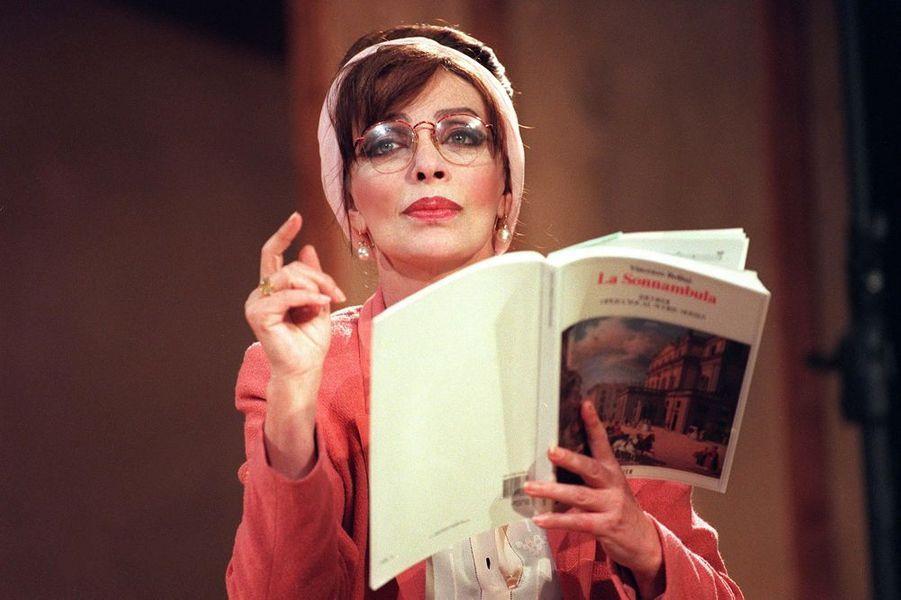 """Marie Laforêt en """"Maria Callas"""""""