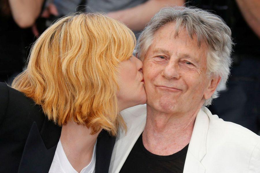 Emmanuelle Seigner et Roman Polanski