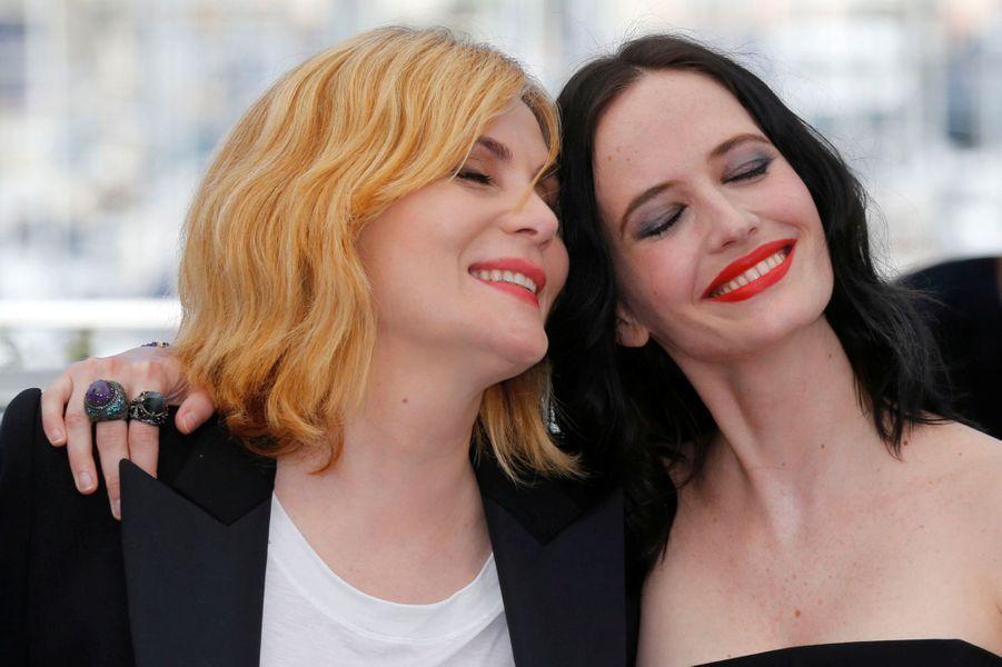 Emmanuelle Seigner et Eva Green