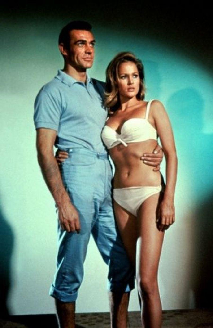 James Bond 007 contre Dr. No, en 1962.