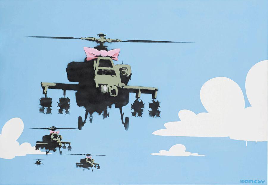 Happy Choppers de Banksy