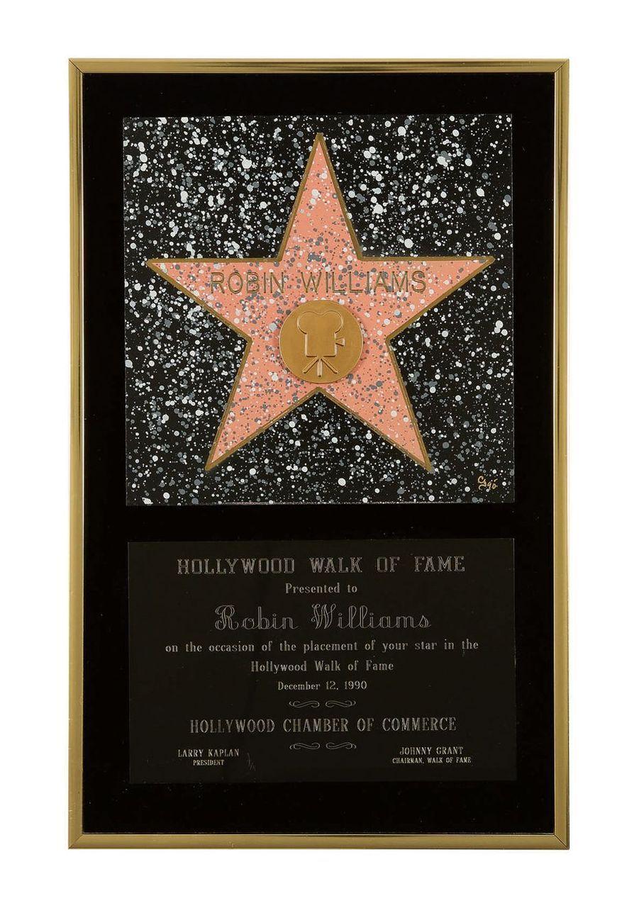 Hollywood Walk of Fame Award