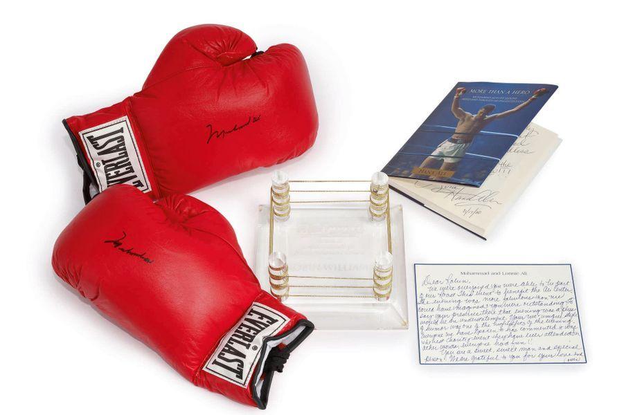 Les gants de Muhammed Ali