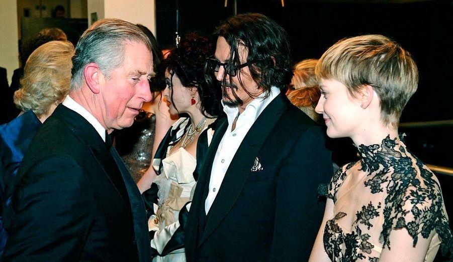 Le Prince Charles tout sourire