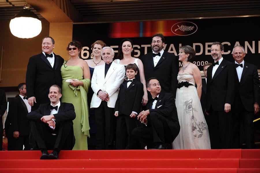 """2009 : """"Là-haut"""" de Peter Docter, film d'ouverture du Festival de Cannes dans lequel il donne la voix au personnage principal."""