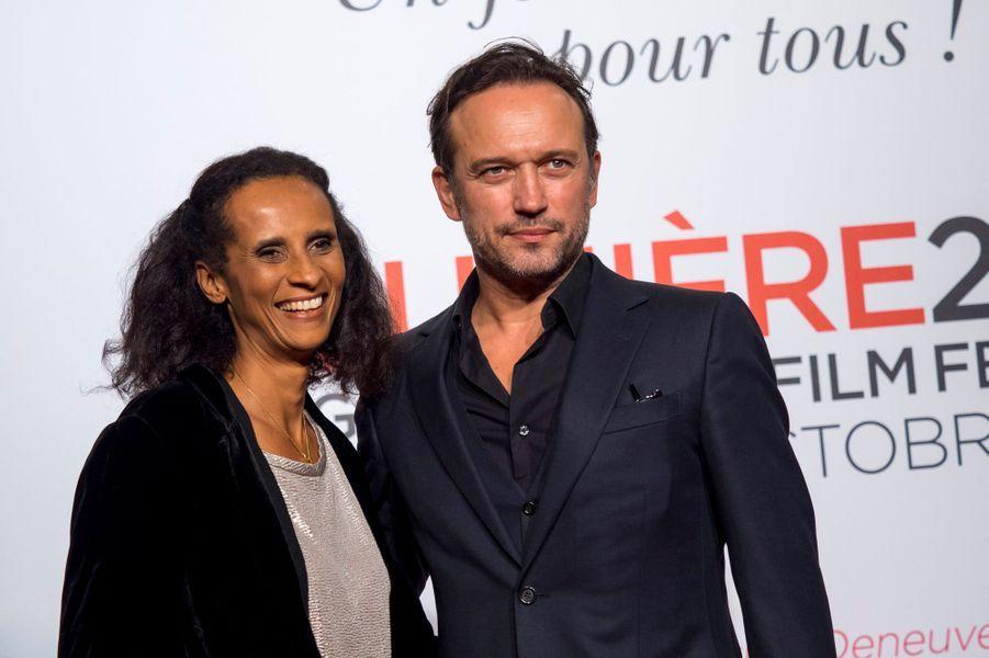 Karine Silla et Vincent Perez