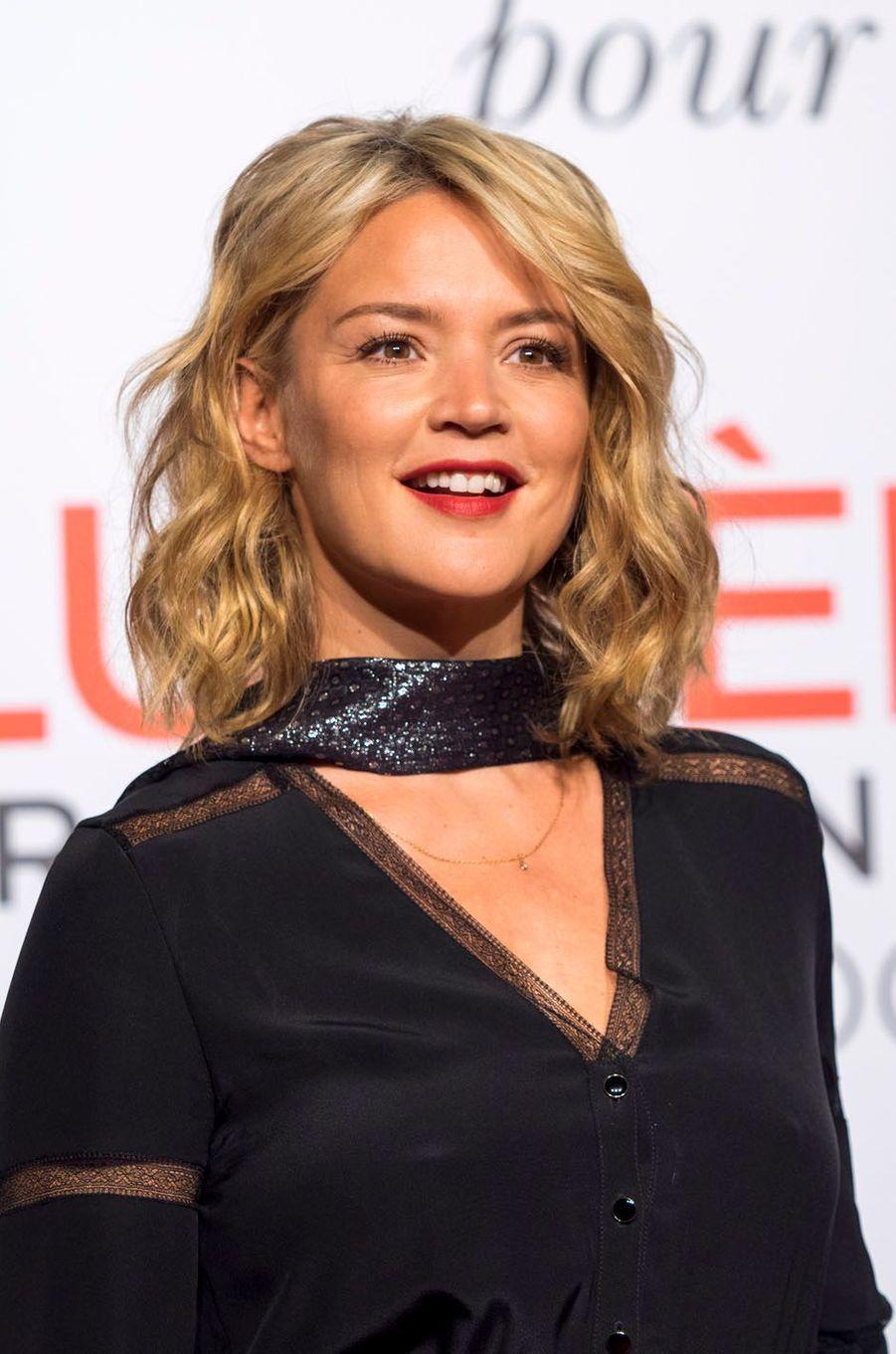 Virginie Efira lors de l'ouverture du 8e Festival Lumière de Lyon.