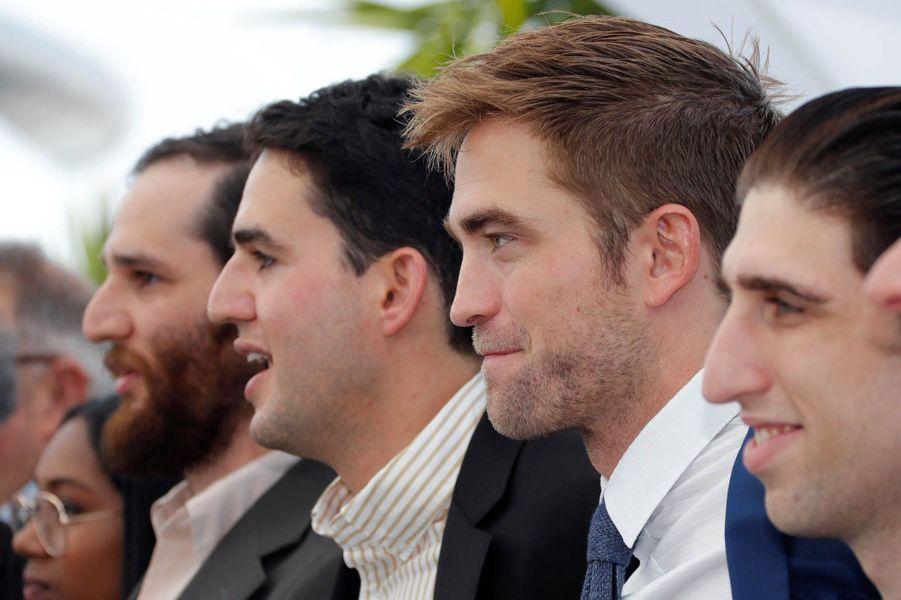 """Robert Pattinson et l'équipe de """"Good Time"""""""