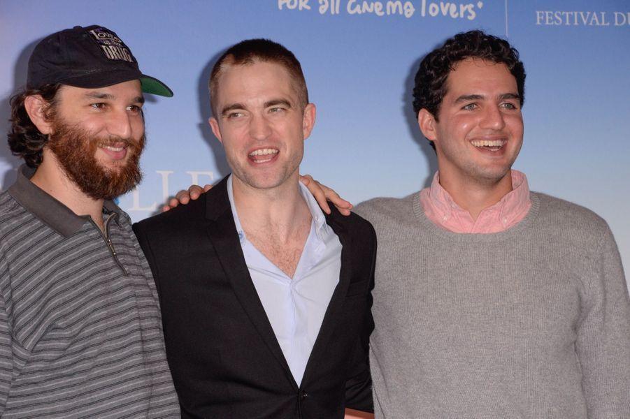"""Robert Pattinson présente à Deauville le Film """"Good Time"""" avec les Réalisateurs Josh et Benny Safdie."""