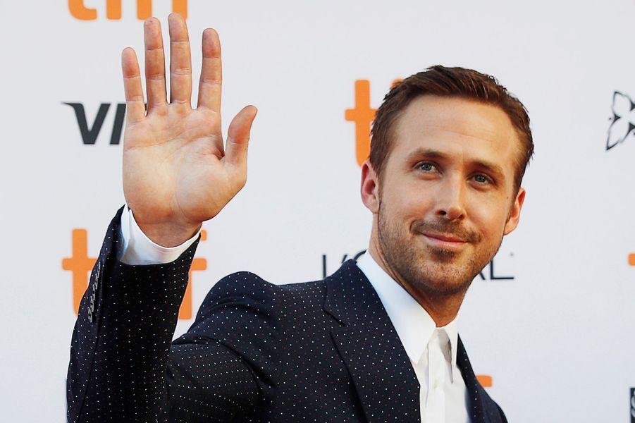 """Ryan Gosling à Toronto pour """"La La Land""""."""