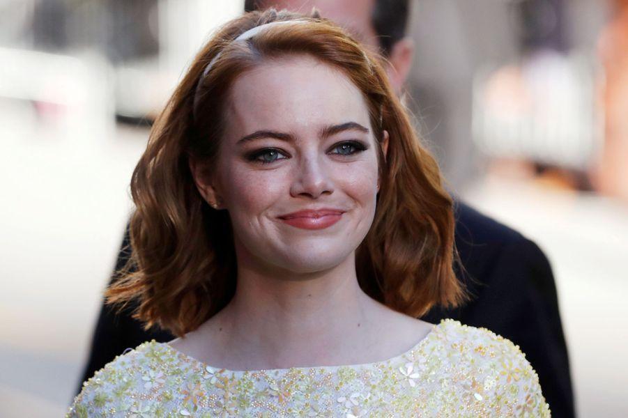 "Emma Stone à Toronto pour ""La La Land""."