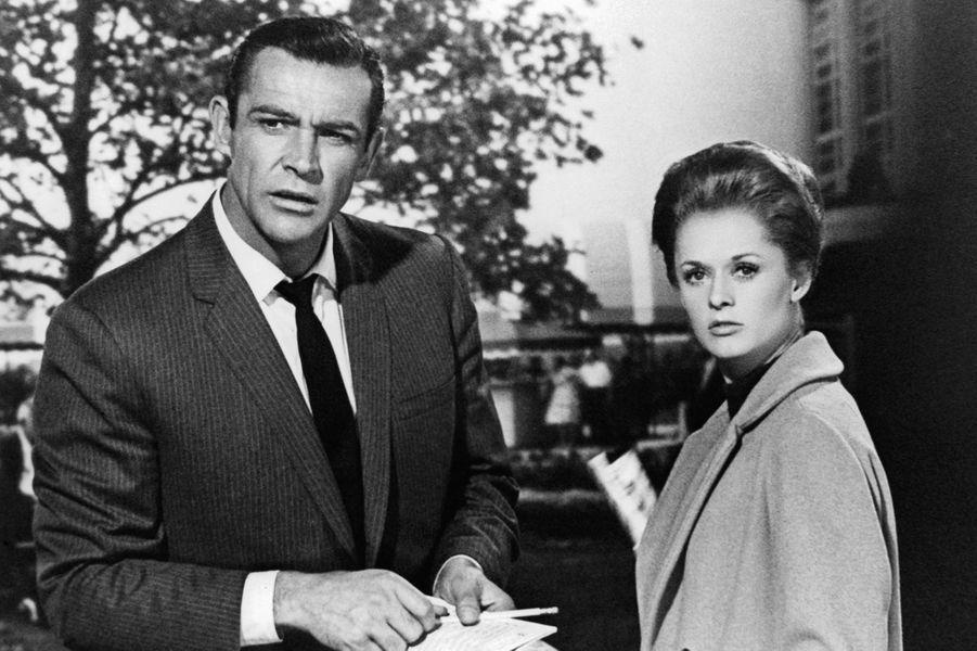 1964 : Sean Connery dans «Pas de printemps pour Marnie» d'Alfred Hitchcock avec Tippi Hedren