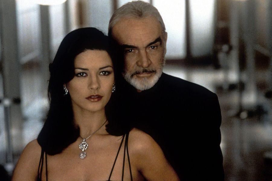 1999 : Sean Connery dans «Haute voltige» de Jon Amiel avec Catherine Zeta-Jones