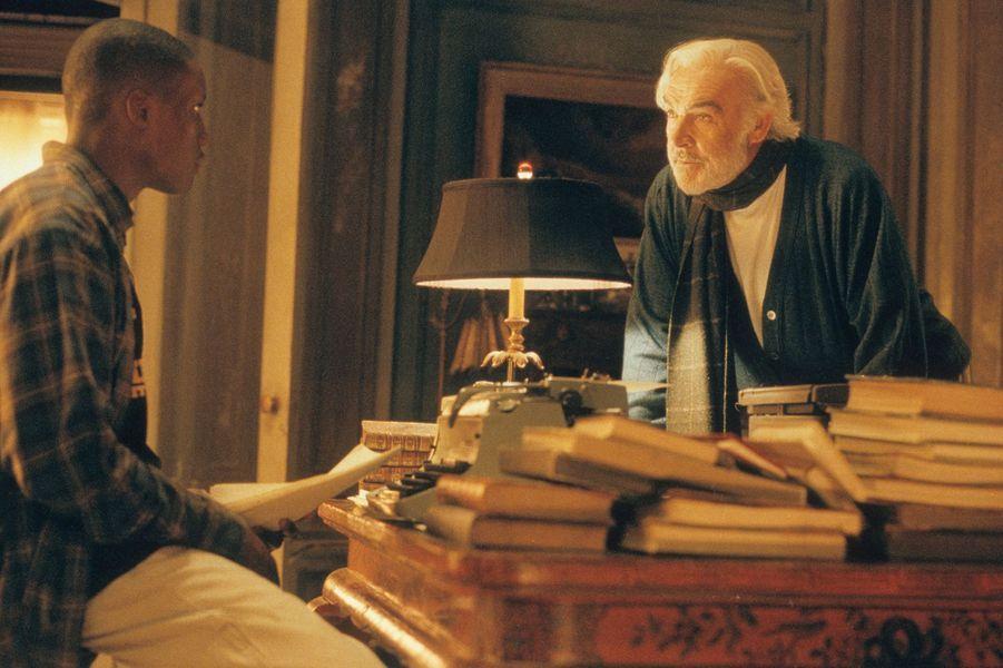 2000 : Sean Connery dans «A la rencontre de Forrester de Gus van Sant avec Rob Brown