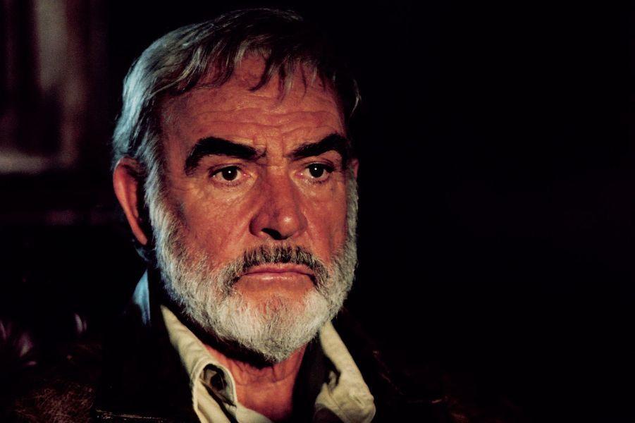 2003 : Sean Connery dans «La ligue des gentlemen extraordinaires» de Stephen Norrington. Son dernier rôle au cinéma.