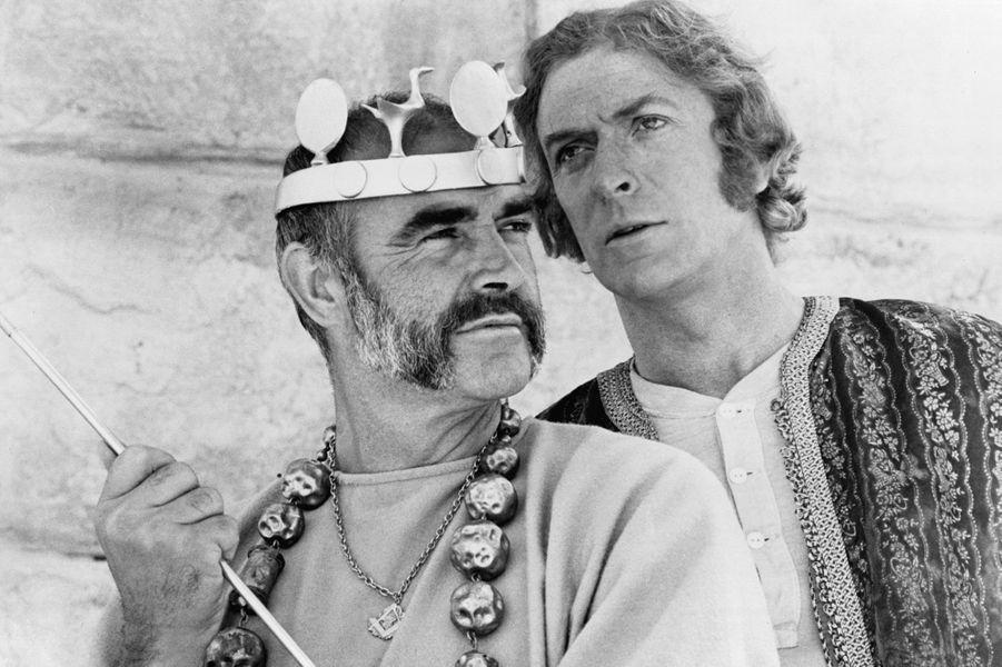 1975 : Sean Connery dans «L'Homme qui voulut être roi» de John Huston avec Michael Caine