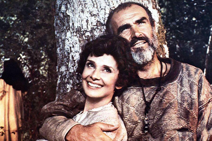 1976 : Sean Connery dans «La rose et la flèche» de Richard Lester avec Audrey Hepburn
