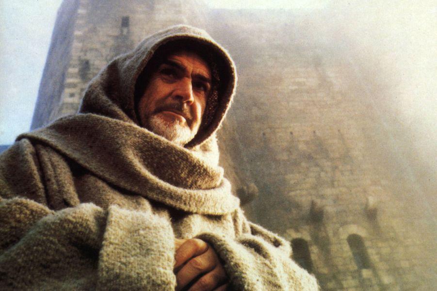 1986 : Sean Connery dans «Le nom de la rose» de Jean-Jacques Annaud avec Christian Slater et Michael Lonsdale