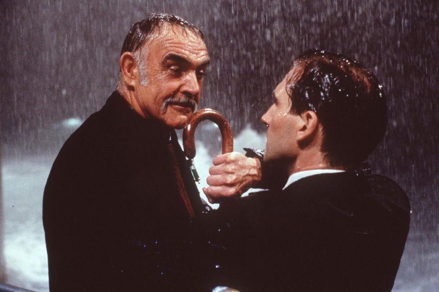 1998 : Sean Connery dans «Chapeau melon et bottes de cuir» de Jeremiah Chechik avec Ralph Fiennes et Uma Thurman