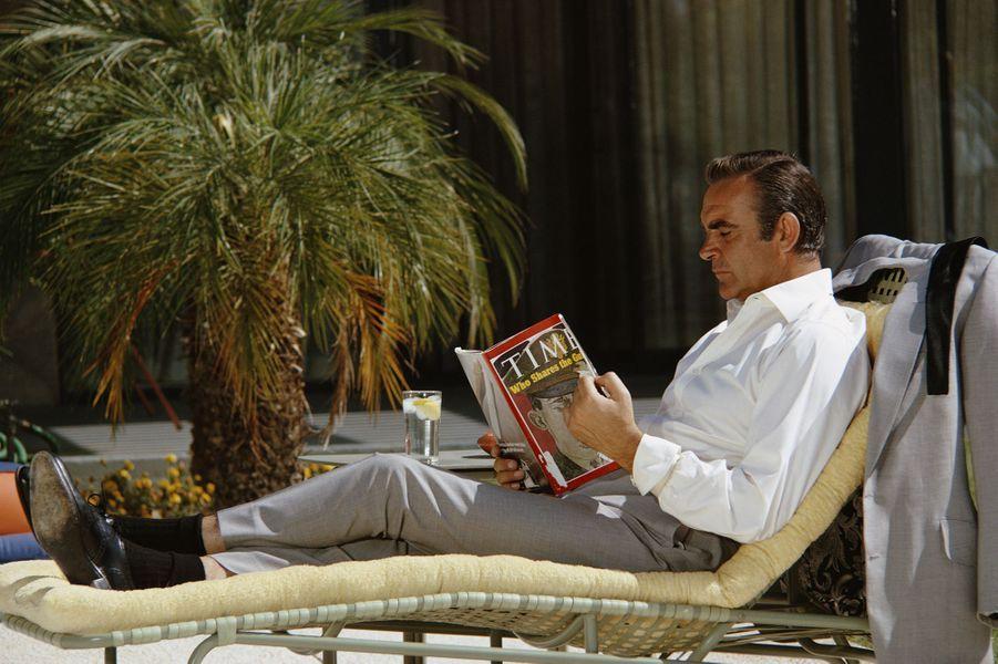 Sean Connery dans la peau de James Bond dans «Les diamants sont éternels», sorti en 1971