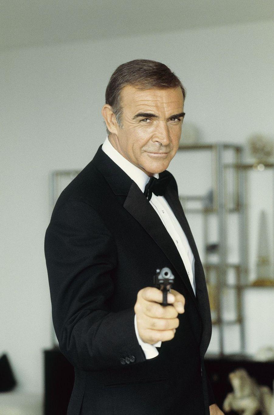 Sean Connery dans la peau de James Bond dans «Jamais plus jamais», sorti en 1983
