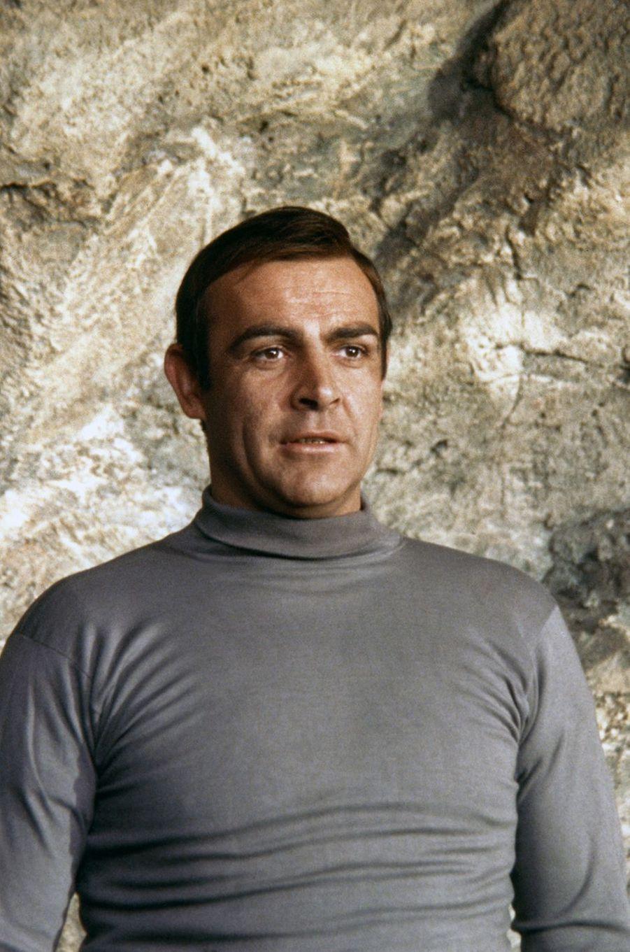 Sean Connery dans la peau de James Bond dans «On ne vit que deux fois», sorti en 1967