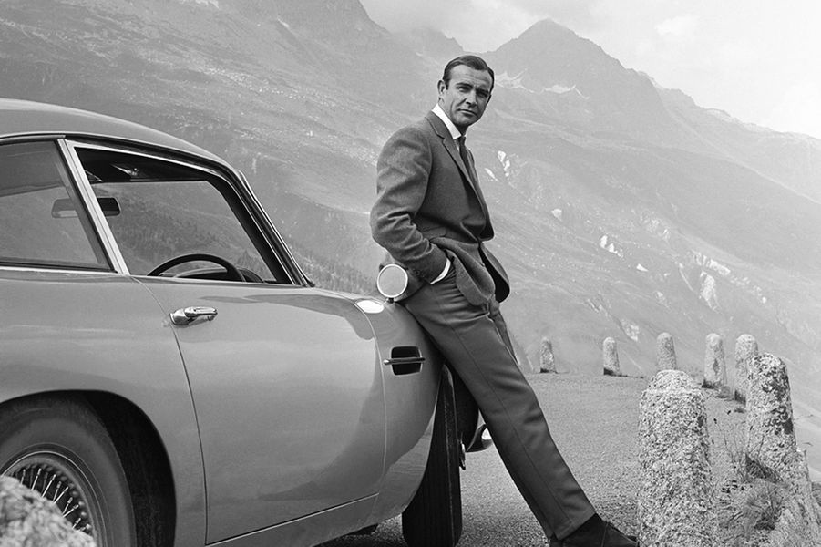 Sean Connery dans la peau de James Bond dans «Goldfinger», sorti en 1964